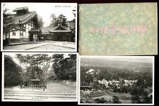Japan JAPANESE Temples Views unknown location Original Envelope 7 PPCs