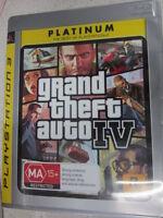 Grand Theft Auto IV 4 Sony PlayStation 3 PS3