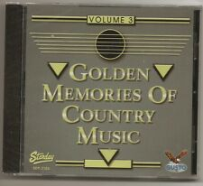 "GOLDEN MEMORIES OF COUNTRY MUSIC, CD ""VOLUME 3"" NEW SEALED"