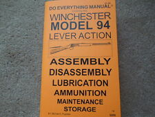 Winchester Model 94 Model 1894 Plus Parts For Others  Rifle Manual 67 pages