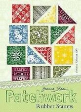 Joanna Sheen PATCHWORK Rubber Stamps - Christmas Set