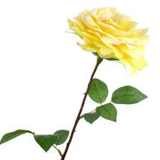 Tall Silk Rose Addie Single Stem, 26-Inch
