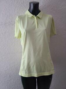 Nike Golf Womens Size 12-14 Green 1/4 Zip Polo Shirt