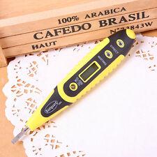 1× Digital Voltage Detector AC DC 12V-220V Tester Pen LED Light Electric Sensor
