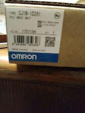 Reduced...Omron  CJ1W-ID261.  Factory sealed NIB PLC input module.