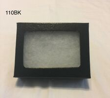 "#110 (30) Riker Mount Display Case Shadow Box Frame Tray 3 1/2"" x 2"" x 3/4"""