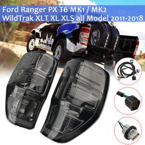 2x Geräuchert Rückleuchte Rücklicht Hecklicht Heckleuchte Für Ford Ranger T6 PX