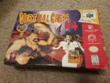(Box Only, no game) Virtual Chess 64 Nintendo 64 Box