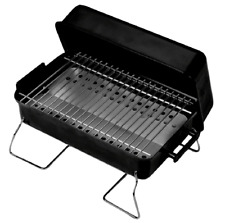 Outdoor Camping Grill Charcoal Portable TableTop Small Travel Cooking BBQ Steel