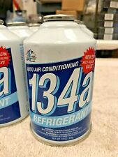 R134a Refrigerant, New Self-Sealing Valve, 12 oz. Can, Auto A/C, Coolers, R-134a
