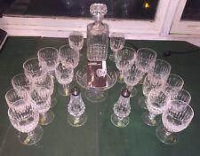 Brand New Vintage Waterford Crystal Water & Wine Set & More!