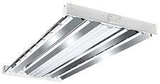New listing Metalux F Bay Fluorescent Light Fixture, T8, 4-Lamp, 2 x 4-Ft.