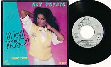 "LATOYA JACKSON 45 TOURS 7"" FRANCE HOT POTATO"