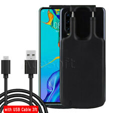 Fits Type-C Phone External Power Bank Stretch Battery Pack Charger Case 5000mAh