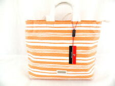 Pierre Cardin - By12_14474 _Arancio Damentasche Weiß Orange Shopper Dame