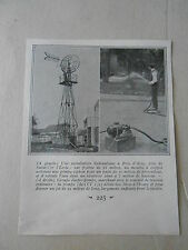 Une installation hydraulique à Bois d'Arcy près de St Cyr image print 1926