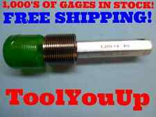 2 1/4 8 N 3 SET THREAD PLUG GAGE NO GO ONLY 2.2500 P.D. = 2.1611 INSPECTION TOOL