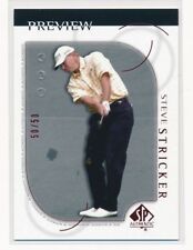 2001 UD SP Preview Steve Stricker RED 50/50 Last One!