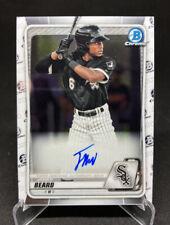 New listing 2020 Topps Bowman James Beard Chrome Rookie Prospects Autograph White Sox