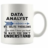 Data Analyst Mug Coffee Cup - Funny World Best Gift Mom Dad