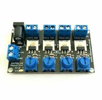 RKpsu v4 Quad Variable Output PSU 4x LM317 for Arduino, PICAXE, Micro:bit, Robot