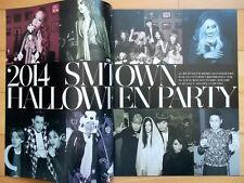 SM town SNSD Shinee EXO SJ etc./Cutting 16P--Magazine Clips/Korea/2014 Party