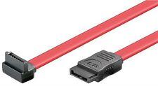 HDD S-ATA Cavo 1.5 GBits 3 GBits 90 ° L Rosso 0.5 M SATA maschio a SATA L-MASCHIO 90 °