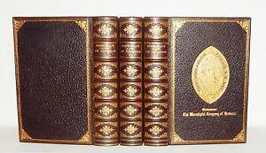 1906 Boswell LIFE OF SAMUEL JOHNSON 3 Vols SCHOOL PRIZE Dame Alice Owen BINDING