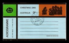 DR JIM STAMPS CHRISTMAS AIRMAIL AEROGRAMME AUSTRALIA FIRST DAY ISSUE COVER