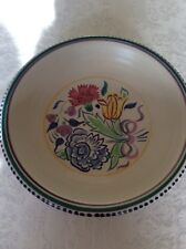 "VINTAGE POOLE POTTERY 9.75"" BOWL SHAPE 291"