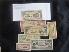7 - WW-II Japanese Invasion Notes, Netherlands, Philippines, Burma, Malay,