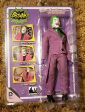 "Batman Classic 1966 TV Series 1 Comics Action Figure 8"" The Joker 2014 DC MEGO"