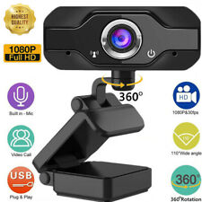 HD 1080P Webcam with Microphone USB Camera For PC/Mac Laptop Desktop Video Call