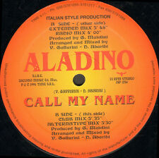 ALADINO - Call My Name - Italian Style Production