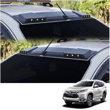 For Mitsubishi Montero Pajero Sport 16 - 2017 Front Leds Roof Gap Spoiler Black