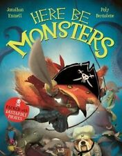 Here be Monsters by Jonathan Emmett (Paperback, 2014)-H010