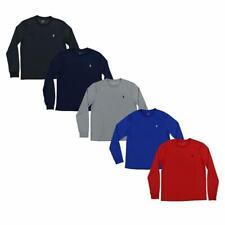 NEW Polo Ralph Lauren Mens T-shirt Performance Crew Neck Long Sleeve