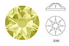 10x Swarovski® Crystals Flatback jonquil 2088 NoHF SS34 7mm Xirius Strass-Stein