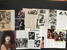 KISS Full Page  Magazine Pinup's / Clippings All From The 70 Early 80's