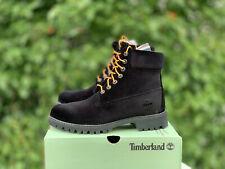Timberland x Off White Virgil Abloh Black Velvet DS sz 7.5 Supreme Kith Limited