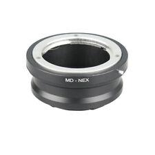MD-NEX Hot Sale Metal Adapter Ring for Minolta MC MD Lens to NEX3 NEX5 BL