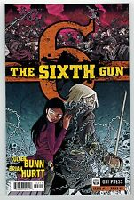 THE SIXTH GUN #3 - BRIAN HURTT ART & COVER - CULLEN BUNN STORY - ONI PRESS 2010