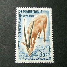 Mauritania Stamp Scott#  133 Scimitar-horned Oryx 1961 MH C525