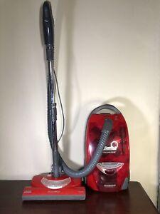 Kenmore Progressive 360 True HEPA 116 Red Canister Vacuum W Nozzle + Attachments