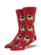 Pug Dog Socks - SockSmith Mens Socks