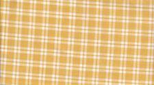 YELLOW LARGE WINDOW PANE PRINT {VINTAGE} 100% COTTON LAST YARD