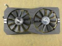 ASUS ROG STRIX Radeon RX460 RX560 Video Card Fan Replacement with Bracket 4Pin