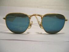 Vintage Ray-Ban Sunglasses, w1864, Blue Mirror lens, Bausch & Lomb, USA