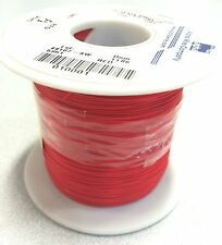 Alpha Wire 5951 Hookup Wire, 1000 Foot Spool, 30 AWG, RED