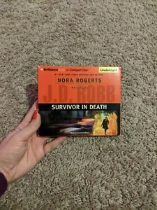 Survivor in Death by J D Robb (#20) Susan Ericksen Unabridged CD Audio Book